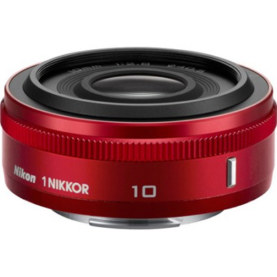 1 NIKKOR 10mm f/2.8 Lens Red - Factory Refurbished