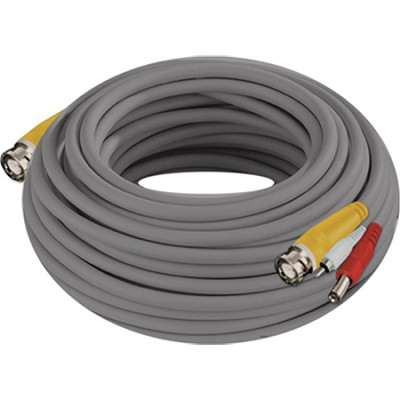 100 Feet 24AWG BNC Video/Power Camera Extension Cable with Adapter
