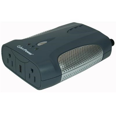 400W Power Inverter with USB Charging Port and 2 AC Outlet - CPS400AI