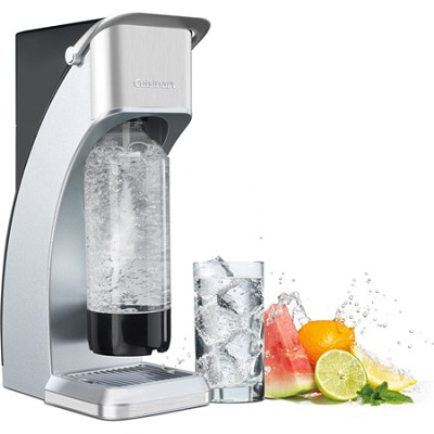 Sparkling Beverage Maker with 4-Ounce CO2 Cartridge - Silver