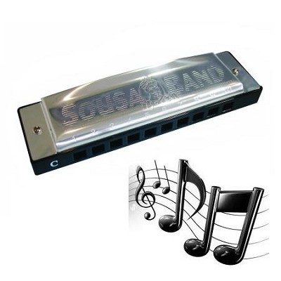 1010H Deluxe Harmonica, Key Of F DLX