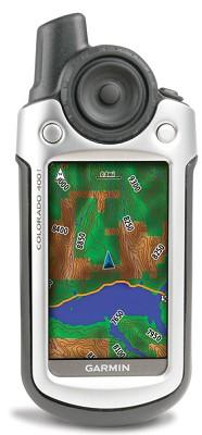 Colorado 400t Personal Handheld GPS Navigator w/ US Topographic Preloaded