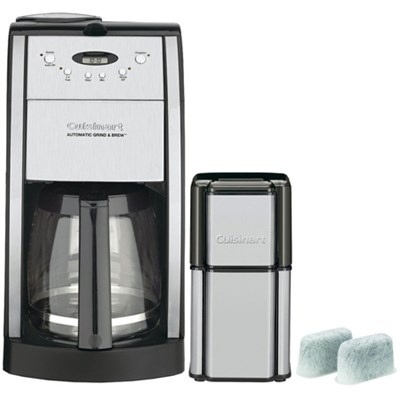 Brew Central 12-Cup Programmable Refurb Coffeemakerw/ Refurbished Bundle