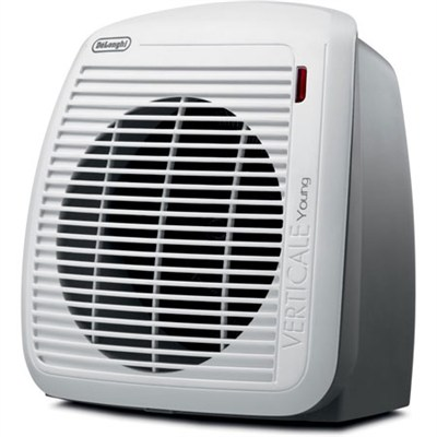 HVY1030 1500-Watt Fan Heater - Gray with White Face Plate