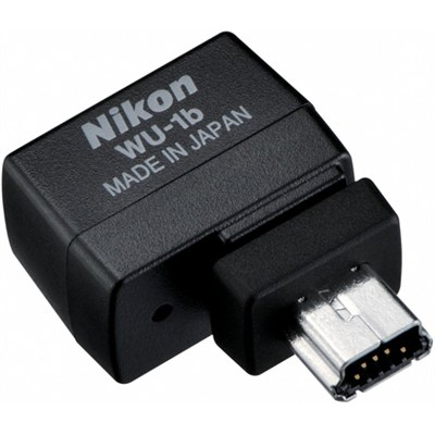 WU-1b Wireless Mobile Adapter for Select Nikon DSLR Cameras Factory Refurbished