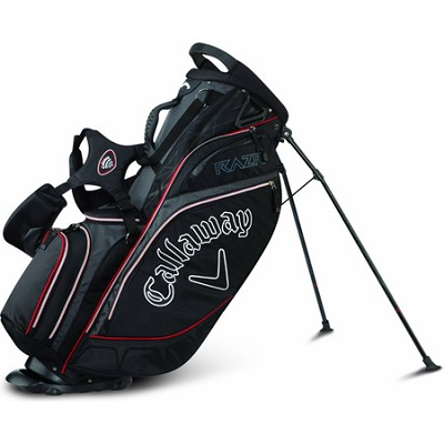 RAZR Golf Stand Bag - Black