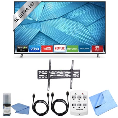 M70-C3 - 70-Inch 240Hz 4K Ultra HD Smart LED HDTV Tilting Wall Mount Bundle
