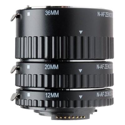 Auto Focus Macro Extension Tube for Nikon (12mm, 20mm & 36mm)
