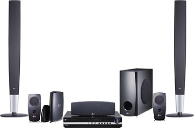 LHT874 - DVD Wireless-Ready Home Theater System