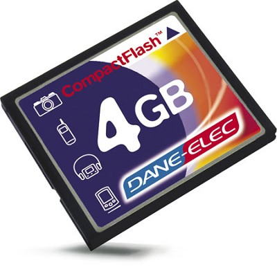 4GB CompactFlash Memory Card ( A Necessity)
