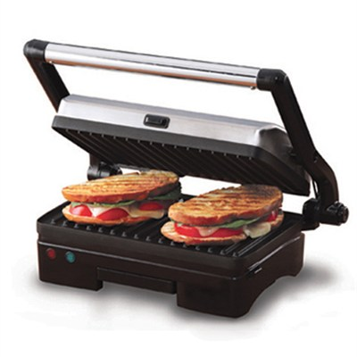 6113 Nonstick Countertop Grill and Panini Press - OPEN BOX