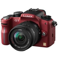 G1-series 12.1MP SLR Digital Camera (Red) - OPEN BOX