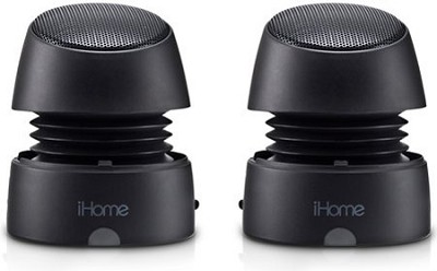 iHM79BC Rechargeable Mini Speakers (Black)
