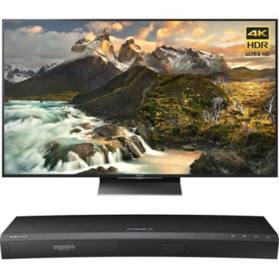 75-Inch Class 4K Ultra HD TV - XBR-75Z9D w/ Samsung Disc Player