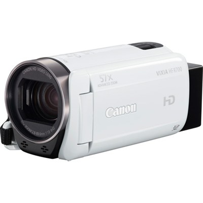 VIXIA HF R700 Full HD White Camcorder with 57x Advanced Zoom