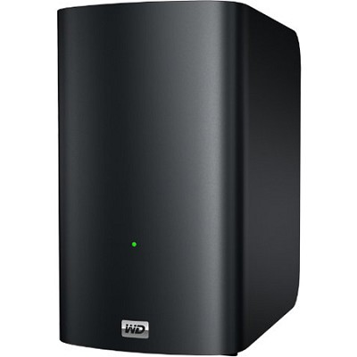 6 TB My Book Live Duo personal cloud storage - OPEN BOX
