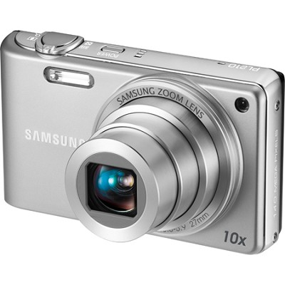 PL210 Superzoom 14MP Compact Silver Digital Camera - OPEN BOX
