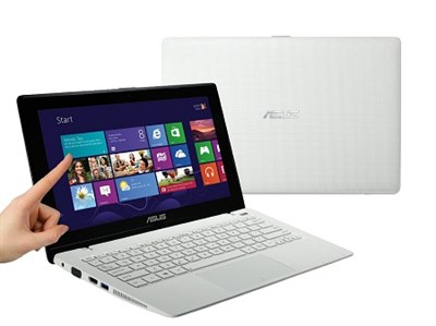K200MA-DS01T (-WHS) 11.6` Touchscreen Intel Celeron N 2815 Notebook - White