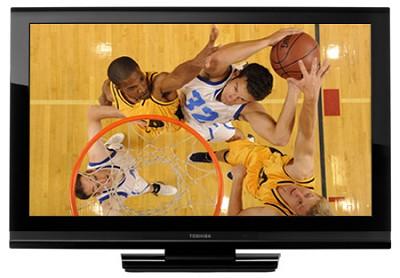 37AV502U - 37` 720p LCD TV, Thin Bezel Gloss Black Cabinet