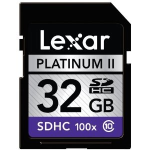 Platinum II 32 GB Class 10 SD/SDHC Flash Memory Card LSD32GBSBNA100