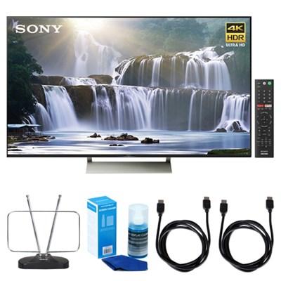 75-inch 4K HDR Ultra HD Smart LED TV (2017 Model) w/ TV Cut the Cord Bundle