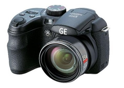 GE Power Pro X500-BK 16 MP with 15 x Optical Zoom, Black - OPEN BOX