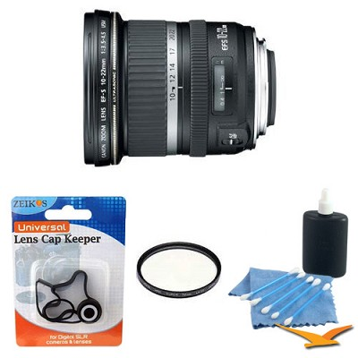 EF-S 10-22mm F/3.5-4.5 USM Lens w/ Fillter and Accy's