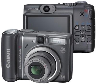 PowerShot A590 IS Digital Camera