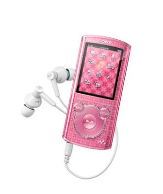 NWZ-E463 Walkman 4GB MP3 player (Pink)