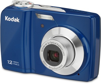 EasyShare C182 12MP 3.0 inch LCD Digital Camera - Blue     **OPEN BOX**