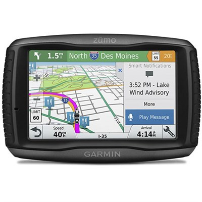 Zumo 595LM Motorcycle GPS Navigator