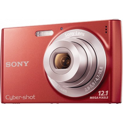 Cyber-shot DSC-W510 Red Digital Camera
