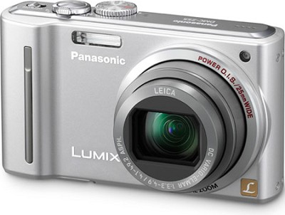 DMC-ZS5S LUMIX 12.1 MP Digital Camera (Silver) - REFURBISHED