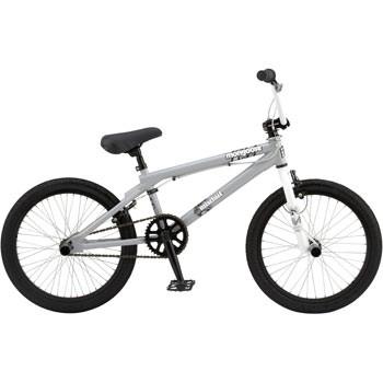 Mischief 20` Freestyle BMX Bike - Light Gray