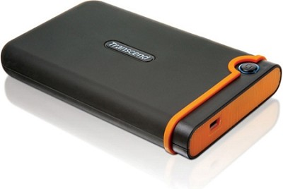 640GB USB 2.0 StoreJet 25 Mobile External Hard Drive (TS640GSJ25M)