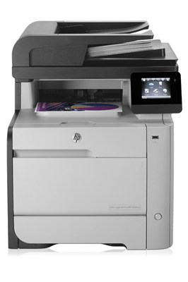 M476dn Color Photo Printer with Scanner, Copier and Fax (CF386A#BGJ) - OPEN BOX