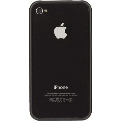 GB01825 Reveal Frame Case for iPhone 4/4s - Black