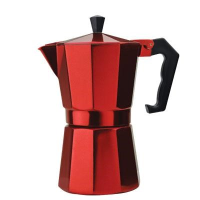 Stovetop Espresso 6cup Red (OPEN BOX)