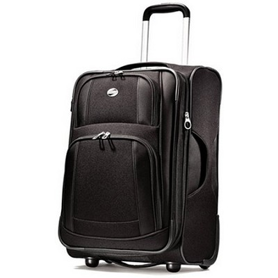 iLite Supreme 25 Inch Upright Suitcase (Black) Retail