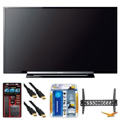 KDL-46R453A 46` R450A Series LED HDTV Wall Mount Bundle
