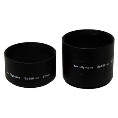 52mm Lens Barrel Adapter For Olympus SP-550 / 560 Cameras