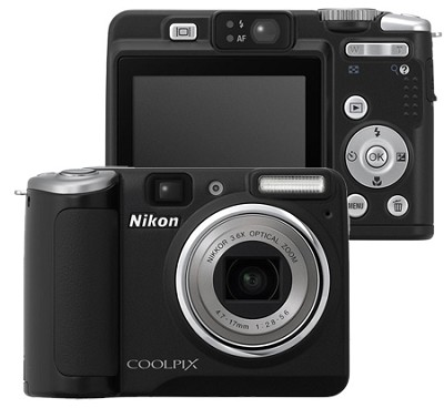 Coolpix P50 Digital Camera (Black)