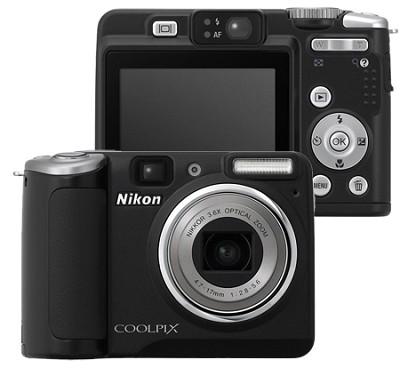 Coolpix P50 Digital Camera (Black)