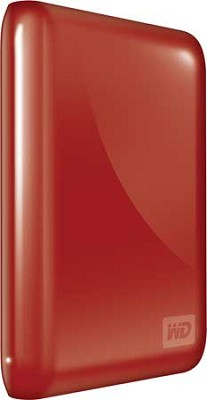My Passport Essential 500GB Ultra-Portable USB Drive w/ Auto Backup (Red)