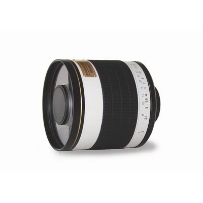500mm f/6.3 Multi-Coated ED Mirror Lens for Nikon DSLR Cameras