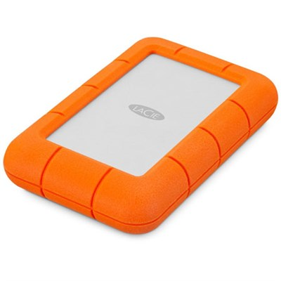 LaCie Rugged Mini USB 3.0 / USB 2.0 4TB Portable Hard Drive