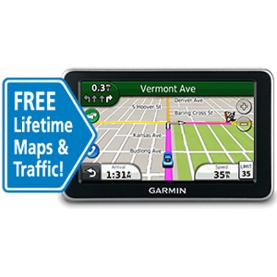 nuvi 2360LMT 4.3` Portable GPS Navigator w/ Lifetime Traffic & Map Updates