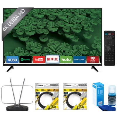 D55u-D1 D-Series 55-Inch 4K Ultra HD LED Smart HDTV with Accessories Kit