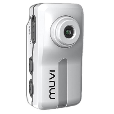 Muvi Atom Camcorder (White)