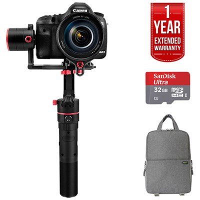 a2000 3 Axis Handheld Gimbal for DSLR/Mrrorless camera w/ SLR GO PACK Bundle
